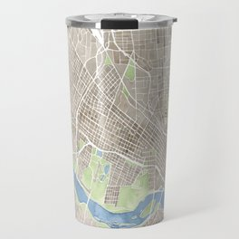 Richmond Virginia City Map Travel Mug