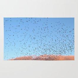 Starling Swarm Rug