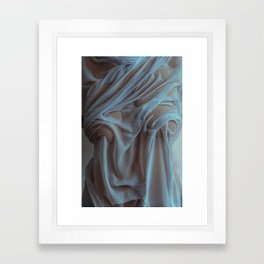 the marble Framed Art Print
