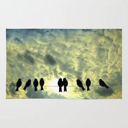 Birds Silhouette Rug