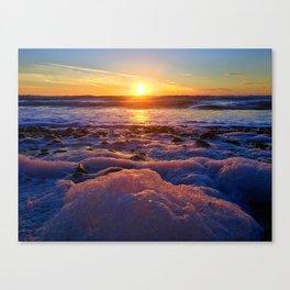 Solana Sunset Canvas Print