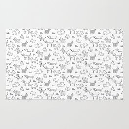 Dogs pattern Rug