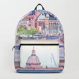 Colorful London Backpack