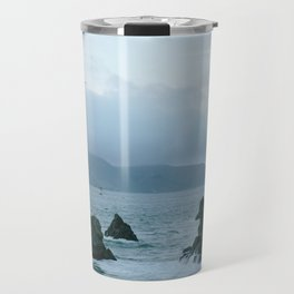 View of Golden Gate Bridge from Sutro Baths Travel Mug