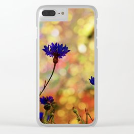 Summer Field Impression 2 Clear iPhone Case
