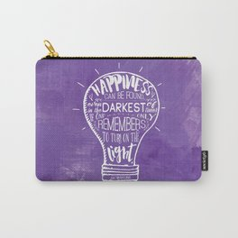 Turn on the Light Carry-All Pouch