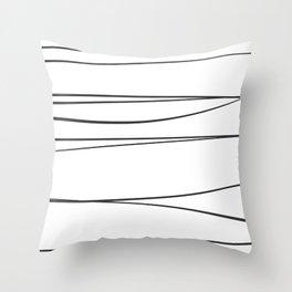 Line 1 Throw Pillow