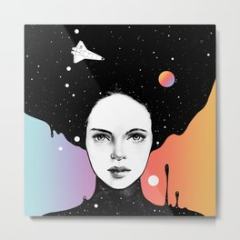 If You Were My Universe Metal Print