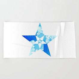 Star of Elysium Beach Towel