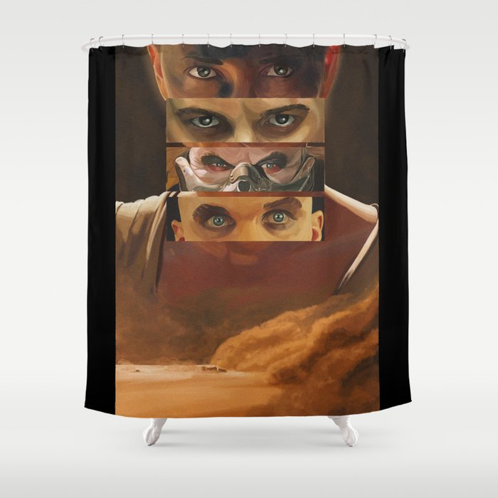 Mad Max Fury Road Shower Curtain by laurapulido | Society6