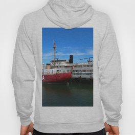 Riverboat Legacy and Fireship Columbia on Columbia River Hoody