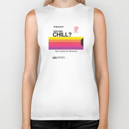 VHS and Chill Biker Tank