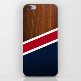 Wooden New England iPhone Skin