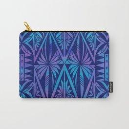 Tapa/Siapo Polynesian bark cloth art (Samoan) Carry-All Pouch