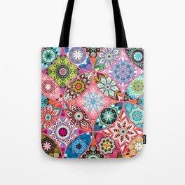Moroccan bazaar | pink Tote Bag