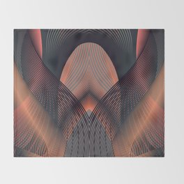 Copper Throw Blanket
