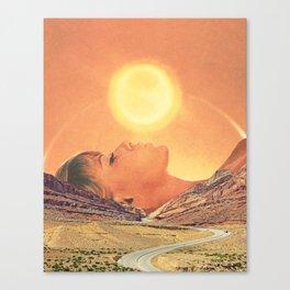 Kiss The Sky Canvas Print