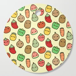 Cute fruit and veg Cutting Board