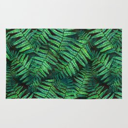 Among the Fern in the Forest Rug
