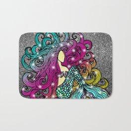 Rainbow Mermaid Bath Mat