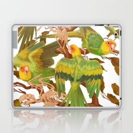 The extinction of the Carolina Parakeet. Laptop & iPad Skin