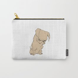 Grumpy Pug Carry-All Pouch