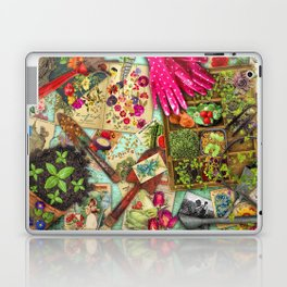 A Vintage Garden Laptop & iPad Skin