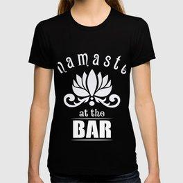 Great Costume For Yoga Lover. Shirt For Bartender. T-shirt