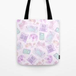 Gamer Girl Pattern Tote Bag
