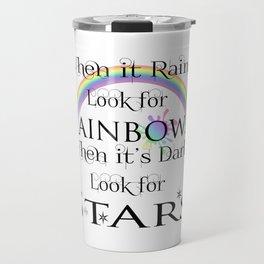 When it Rains... Travel Mug