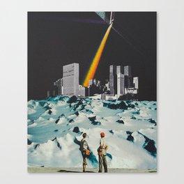 'Quest for Romance' Canvas Print