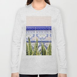 Moroccan Botany #society6 #decor #buyart Long Sleeve T-shirt