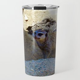 Meerkat at the Zoo Travel Mug