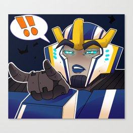 Transformers Robots in disguise 2015: Strongarm Canvas Print