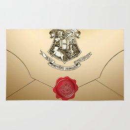 Hogwarts Envelope Rug
