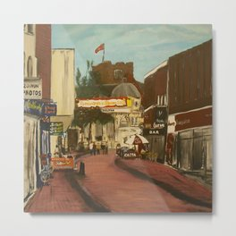 George Street, Tamworth Metal Print