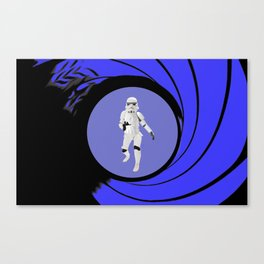 The name is Trooper, Storm Trooper Canvas Print