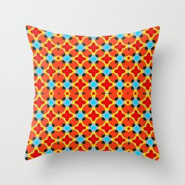 Lady Bug Bugging Out Throw Pillow