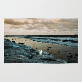 Barnegat Light 3 (seagull) Rug