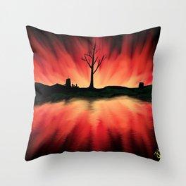 Cataclysm Throw Pillow