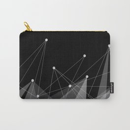 Black fractals Carry-All Pouch