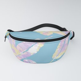 Splatter Feathers #society6 Fanny Pack