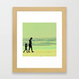 Soledades Compartidas Framed Art Print