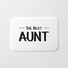 The Best Aunt Bath Mat