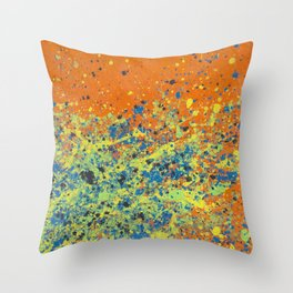 Contagion Throw Pillow