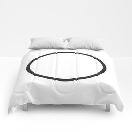 Minimal Circle Comforters