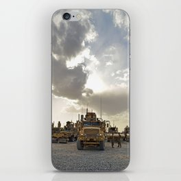 Route Clearance Platoon Army iPhone Skin