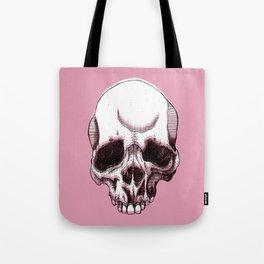 Skull in pink  Tote Bag