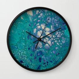 Reptillia Macro2 Wall Clock