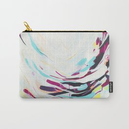 The Healer - Abstract painting #society6 Carry-All Pouch